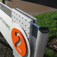 Post & Panel signs